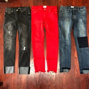 LOT OF 3 Hudson Kids Jeans Size 14